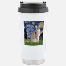 T-Starry Night - Abyssi Stainless Steel Travel Mug