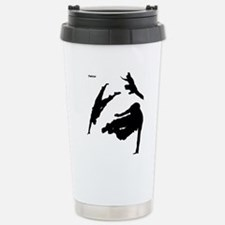 Parkour edge white Stainless Steel Travel Mug