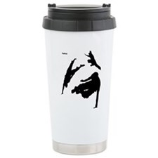 Parkour edge white Travel Mug