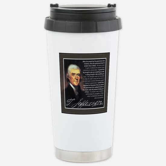 TJ Quotations Stainless Steel Travel Mug