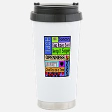 12 step sayings Travel Mug