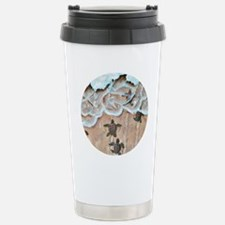Race To The Sea round Stainless Steel Travel Mug
