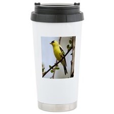 2-American Goldfinch cr Travel Mug
