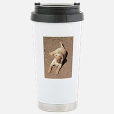 Yellow Lab 1900 x 1600 Stainless Steel Travel Mug