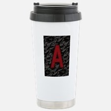 scarlet-a_9x12 Stainless Steel Travel Mug