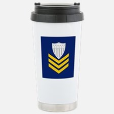2-USCG-Rank-PO1-Tile-Em Travel Mug