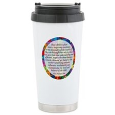 traits clock copy Travel Mug