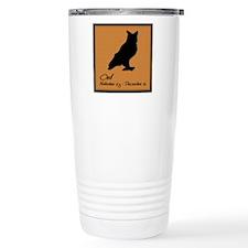 owl_10x10_colour Travel Mug