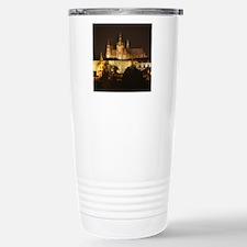 prague castle night Travel Mug