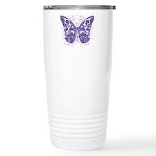 Fibromyalgia-Butterfly- Travel Mug