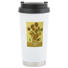 Sunflowers by Vincent V Travel Coffee Mug