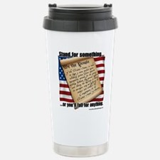 stand for something Stainless Steel Travel Mug