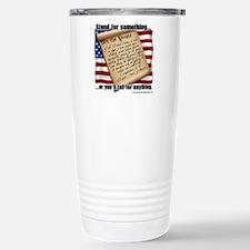 stand for something Travel Mug