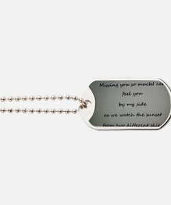 Miss you Dog Tags