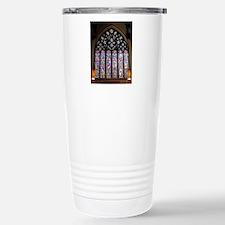 west window christ chur Stainless Steel Travel Mug