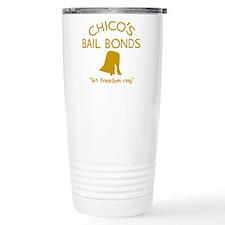Chicos Bail Bonds Gold Travel Mug