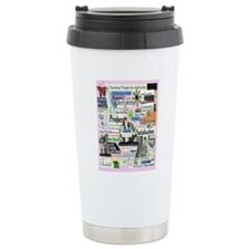 abuse16x20pink Travel Coffee Mug