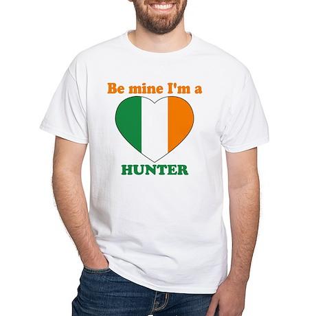 Hunter, Valentine's Day White T-Shirt