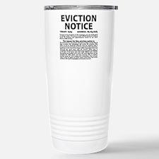 Baby Eviction Notice Travel Mug