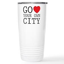 go love your own city Travel Mug