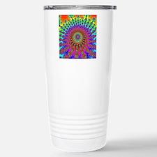 SpaceInvaderSpiral Stainless Steel Travel Mug