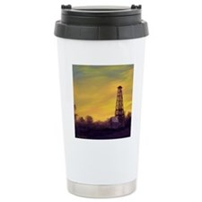 old derick sunset throw Travel Mug