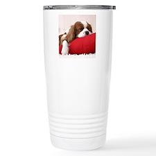 Spaniel tile Travel Mug