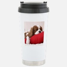 Spaniel tile Travel Mug