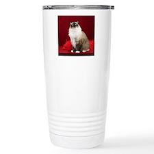 Maddie Round Ornament Travel Mug