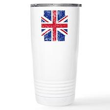 Brit Flag Btn1 Travel Mug