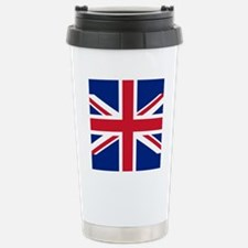 Brit Flag Btn2 Stainless Steel Travel Mug