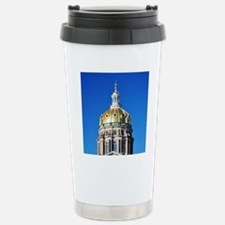 Iowa Capitol Dome Stainless Steel Travel Mug