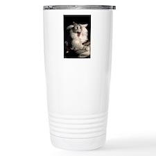 tired_cat_Lg_framed Travel Mug