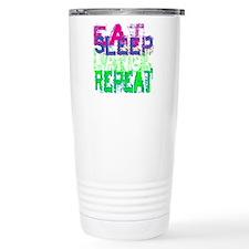 eat sleep dance repeat  Travel Mug