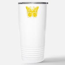 Bladder-Cancer-Butterfl Travel Mug