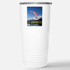 Paramotor skimming wate Travel Mug
