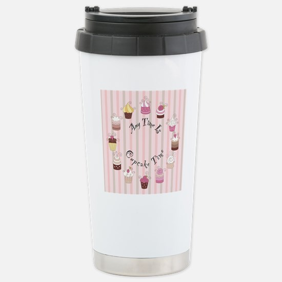 CP-1800-Cupcakes-ANYTIM Stainless Steel Travel Mug