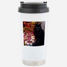 calendar kitty with an  Stainless Steel Travel Mug