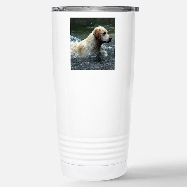 Labradoodle pillow Travel Mug