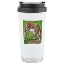 Newborn Donkey Foal Travel Mug