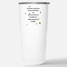 brilliant problem solve Travel Mug