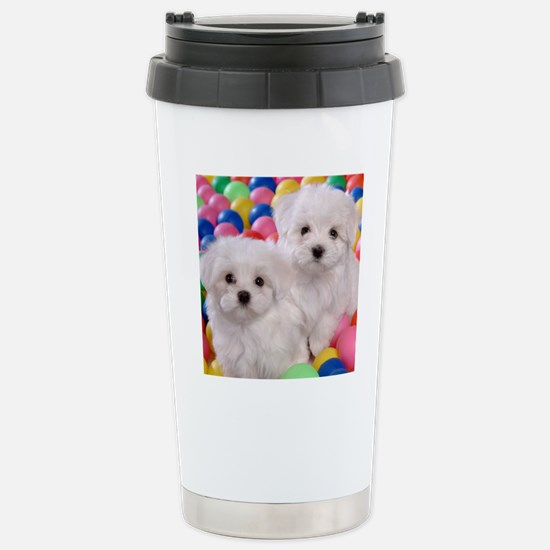bishonFB pillow Stainless Steel Travel Mug