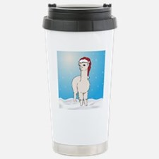 xmasalpacasq Stainless Steel Travel Mug