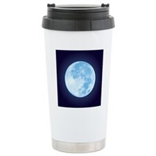 fullMoonBlueSQ Travel Mug
