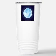 fullMoonBlueSQ Travel Mug