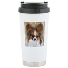 Butterfly Ears Papillon Travel Mug