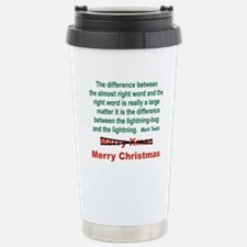 THE DIFFERENCE BETWEEN  Travel Mug