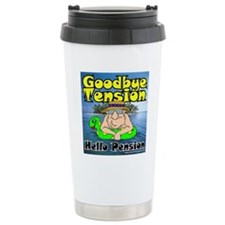 Goodbye Tension T-Shirt Travel Mug