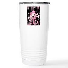 Pink Neon Skull IPAD Travel Mug