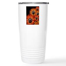 flower_pug+8x10 Travel Mug